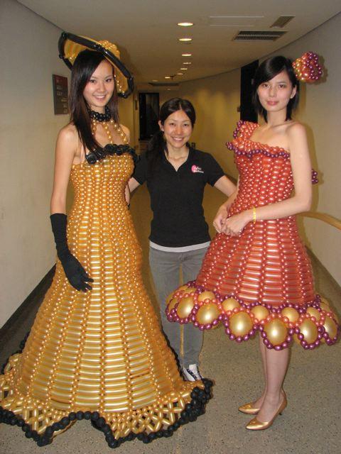 Платья из подручных материалов своими руками для детей фото